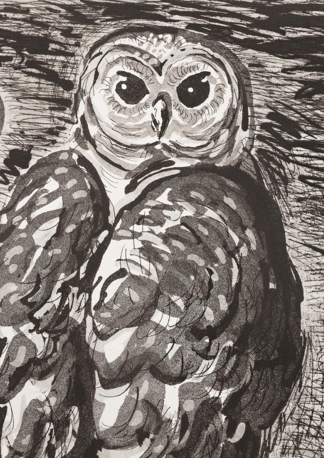 Owl (aquatint)