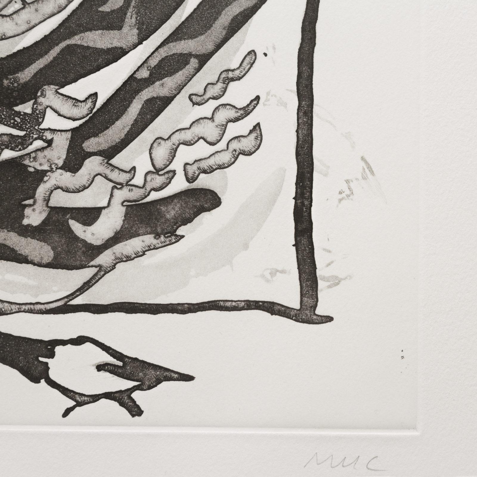 Pigeon (aquatint)