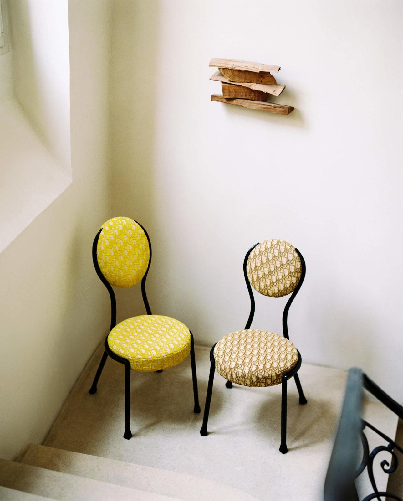 The Dior Maison Medallion Chair